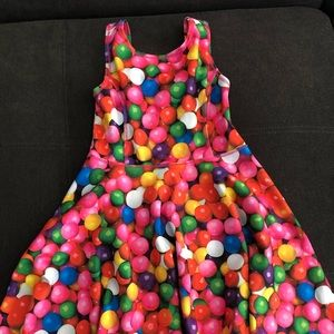 children's place gum ball skater dress